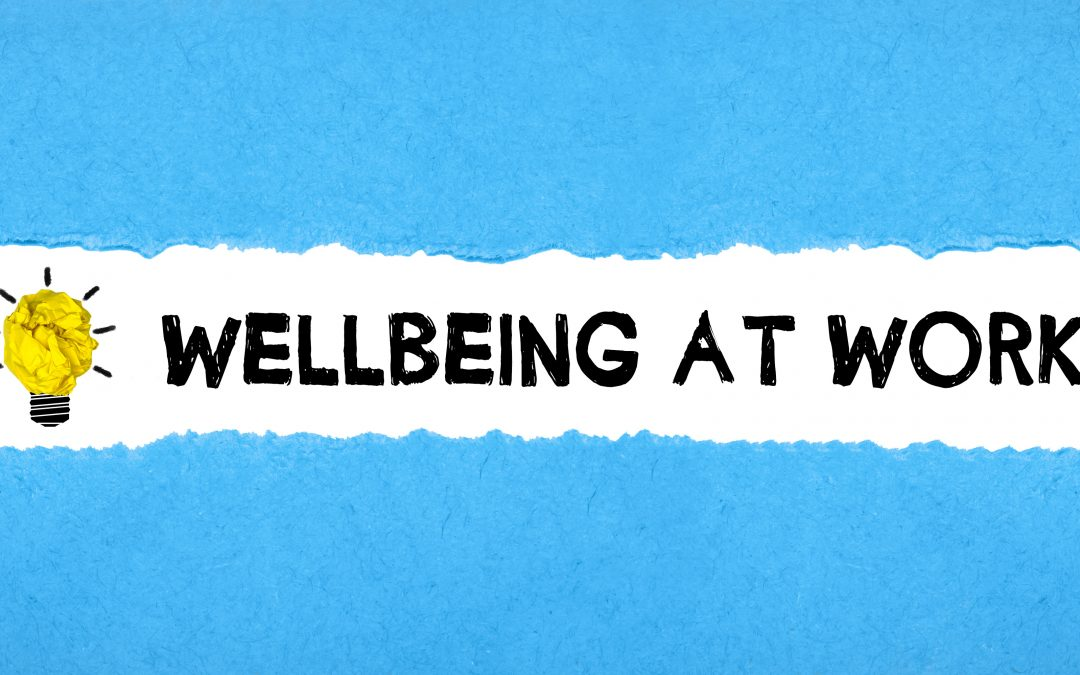 Steps to engagment for workplace wellbeing